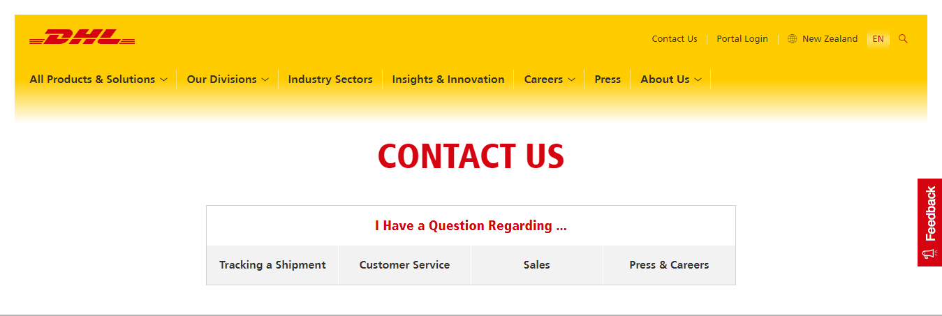 Dhl Contact Phone Customer Service Call 0800 800 020